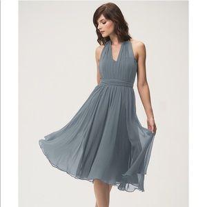 Jenny Yoo Emmie Dress in Denmark Blue